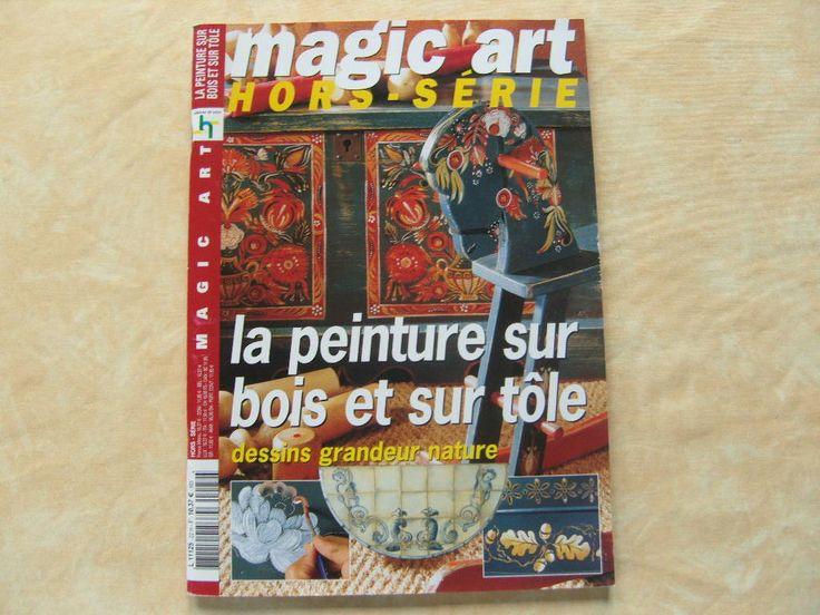 Magazine La Peinture Sur Bois Et Sur T Le N Hors S Rie 22
