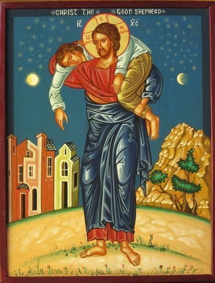 "dramoor:  ""Let not your heart be troubled.  You believe in God, believe also in Me."" ~John 14:1 (Icon via web)"