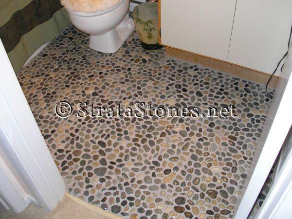 35 best Bathrooms images on Pinterest | Pebble tiles, Bath ...