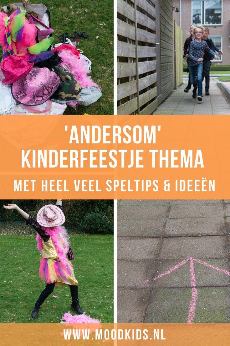 Andersom kinderfeestje thema: voor jongens & meisjes + TIPS | MoodKids – Minne 9 jaar