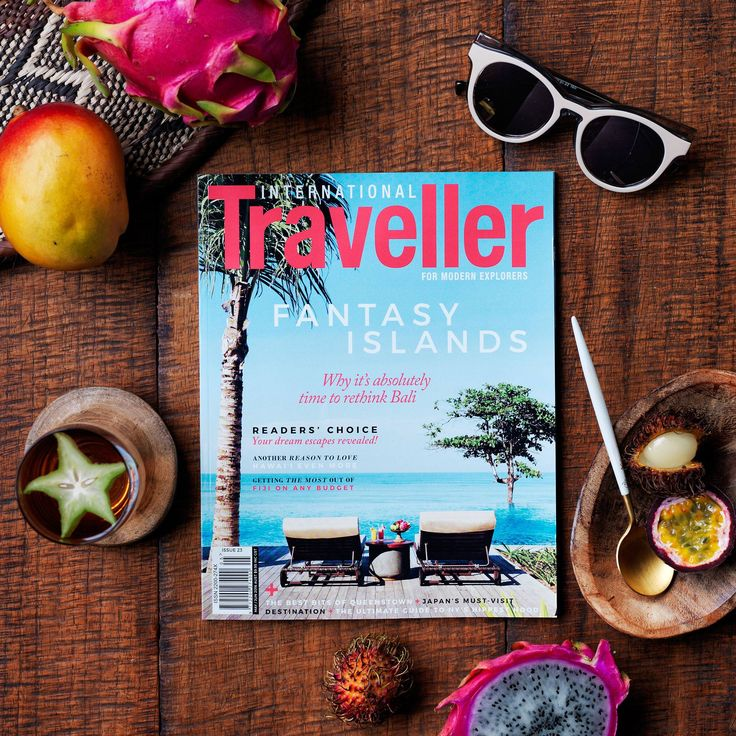 INTERNATIONAL TRAVELLER ISSUE 23 Our Fantasy Island issue, featuring:   Readers' Choice - Your dream escapes revealed! Why it's absolutely time to rethink Bali Another reason to love Hawai'i even more Getting the most out of Fiji on any budget Plus a look at the best bits of Queenstown, the ultimate guide to New York's hippest hood, Japan's must-visit destination, and much more!