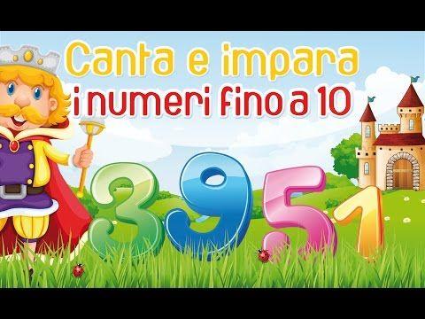Canta e impara i numeri fino al 10 - Canzoni per bambini di Mela Music - YouTube