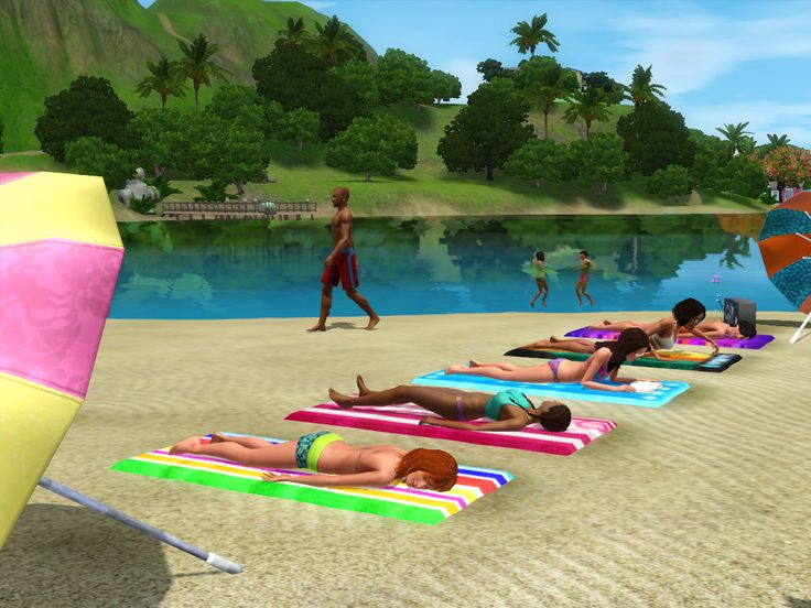 Sims  Island Paradise All Uncharted Islands