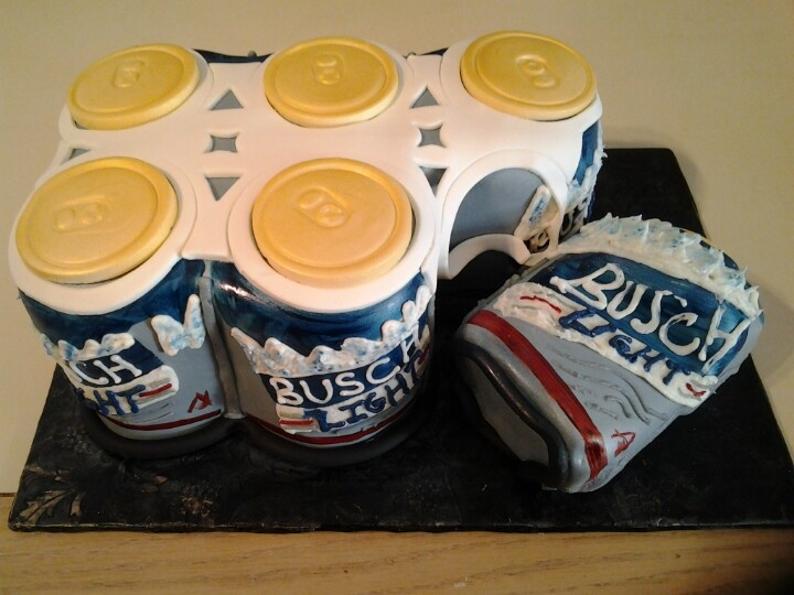 Busch Light Grooms Cake Carefree Groom S Cakes Light