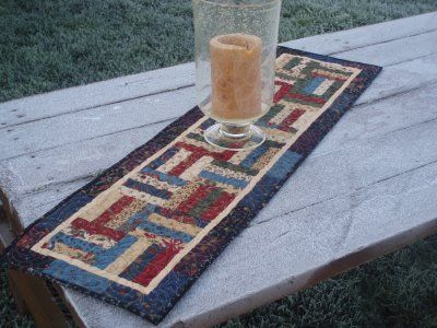 """FREE pattern: """"Petits Fours Runner"""" (from Moda Bake Shop)"""