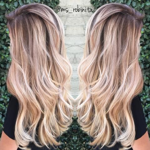 CORRECTION: The Most Perfect Blonde Sombre | Modern Salon