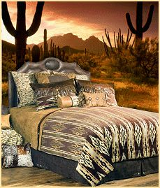 southwest style decorating ideas - southwestern theme bedroom decorations - Southwest Native American bedroom decorating ideas - wolf bedroom ideas - wolf decor - wild animal country decor - rustic style decorating - south western decor horse bedroom theme - cowboy bedroom theme decor - horse wall murals