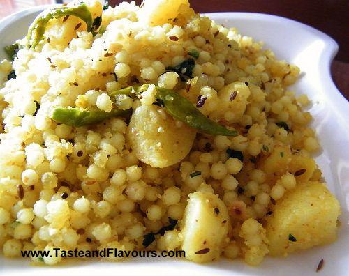 Taste & Flavours: Fasting Food - Sabudana Khichdi