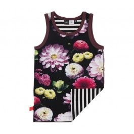 Molo hemd zwart Joshlyn Black Flowering - Molo overgangscollectie zomer 2014 / winter 2014