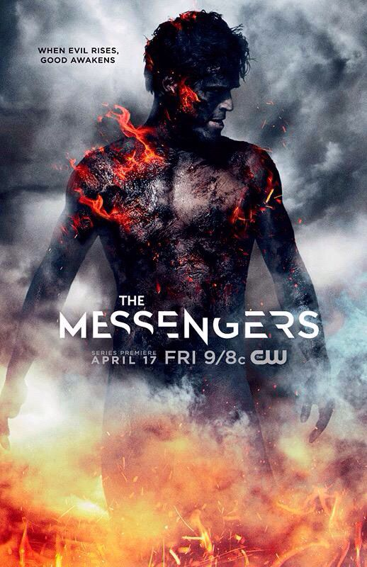 The Messengers so mad they cancelled the show so early. They never gave it a chance for people to enjoy it. Beginning wasn't the greatest, but it really picked up as the season went on. They cancelled it after only 13 episodes and left it on a cliffhanger. Spread the word and maybe it'll get a proper renewal