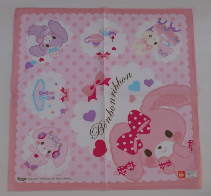 #Bonbonribbon : Handkerchief CLICK THE FOLLOWING LINK TO BUY IT ( IF STILL AVAILABLE ) http://www.delcampe.net/page/item/id,0361048827,language,E.html