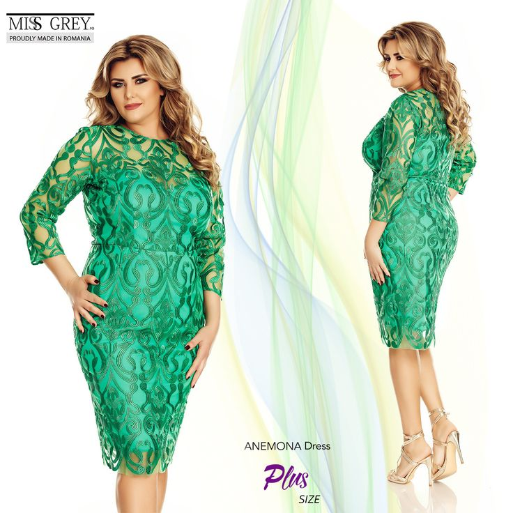 A fresh blend of cheerfulness and sophistication defines the green dress Anemone. http://bit.ly/Anemona-Green-Dress