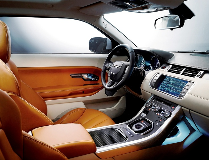 faze rug car interior. land rover range evoque - the is a true status symbol, with an interior to be proud of. beautifully finished leather seats, faze rug car