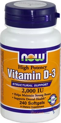 Vitamin D 2,000 IU