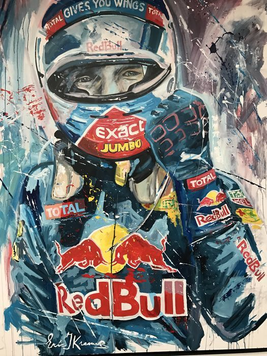 Max Verstappen Painted by EJK