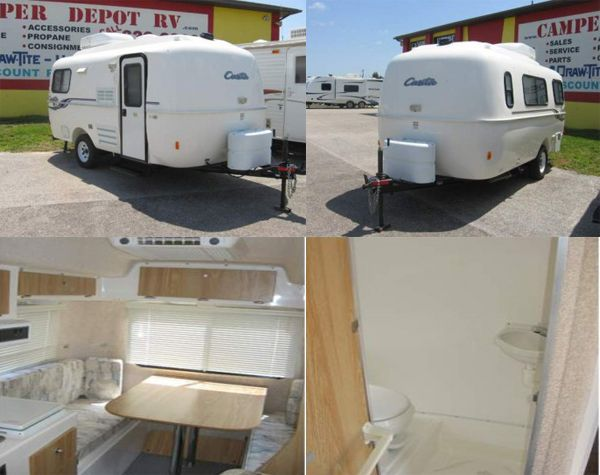 This #Casita Freedom Deluxe 17 #Travel_trailer is nicely designed and built from inside and outside. If you're a travel lover than you must own this Cheap Used 2007 Casita Freedom Deluxe 17 Travel trailer. It's available by Camper Depot in Punta Gorda, FL for reasonable cost. So what are you waiting for? Just dial on (941) 639-6000 and book it now. More details on http://www.rvstock.net/used-rvs/2007/travel-trailer/casita/freedom-deluxe-17/5697/