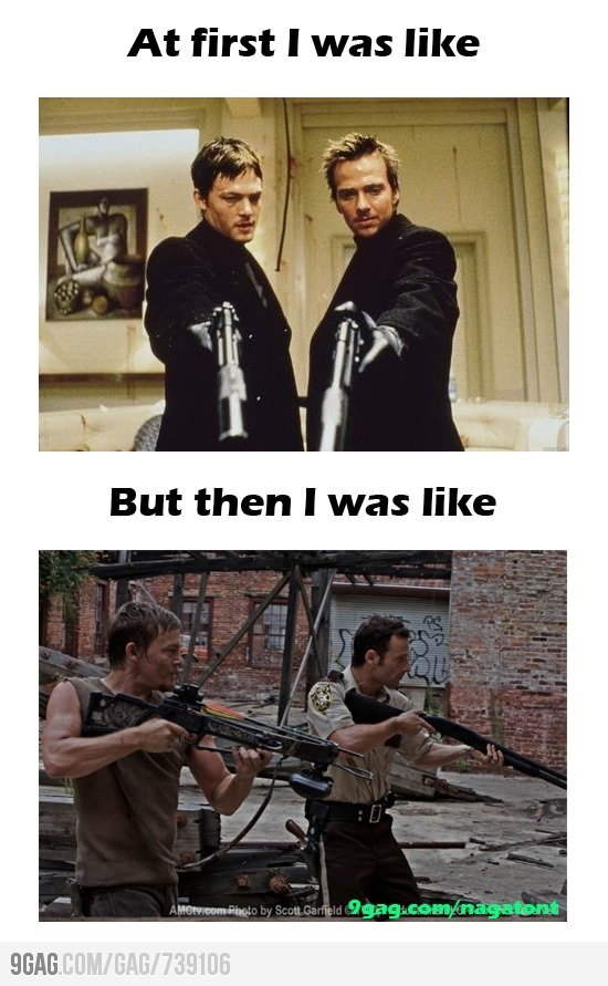 Boondock Saints vs. The Walking Dead