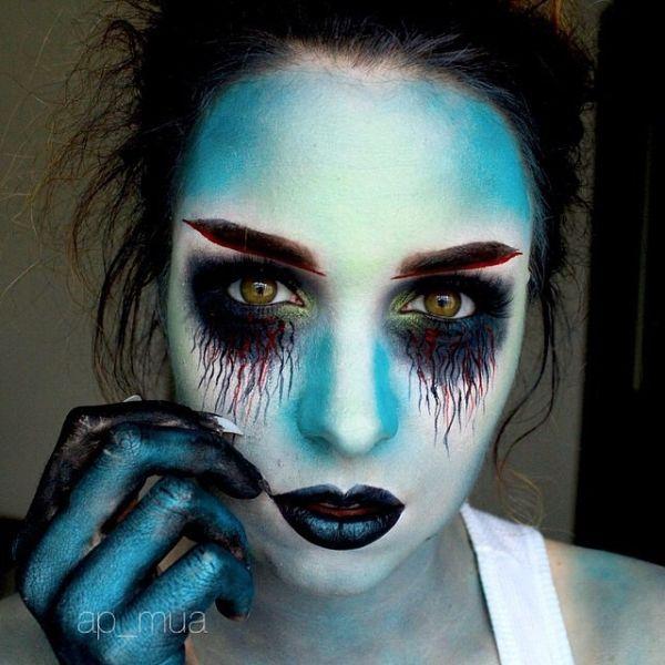 Halloween Makeup Tutorial Tim Burtons Corpse Bride