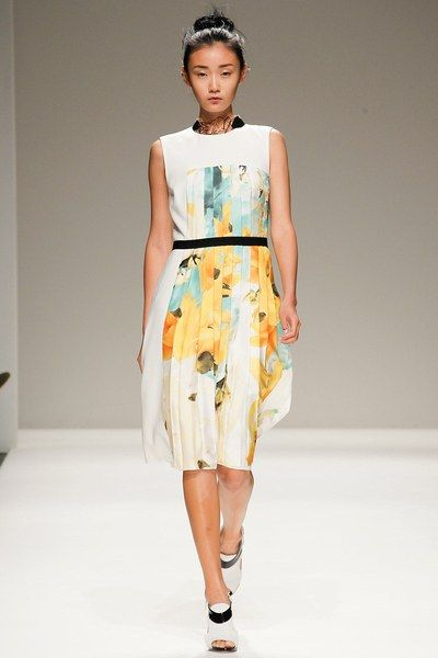 Bibhu Mohapatra Spring 2014 Ready-to-Wear collection.