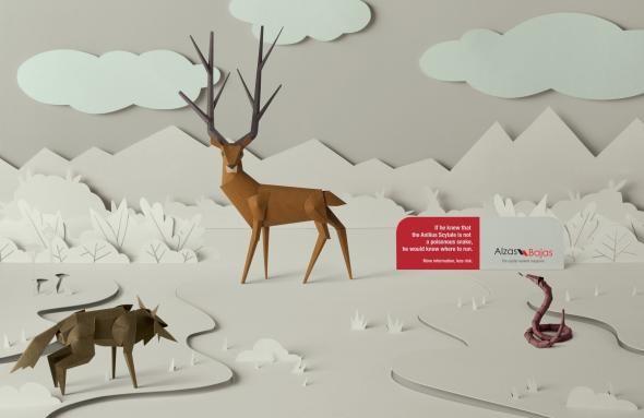 Alzas y Bajas Magazine: Deer #advertising