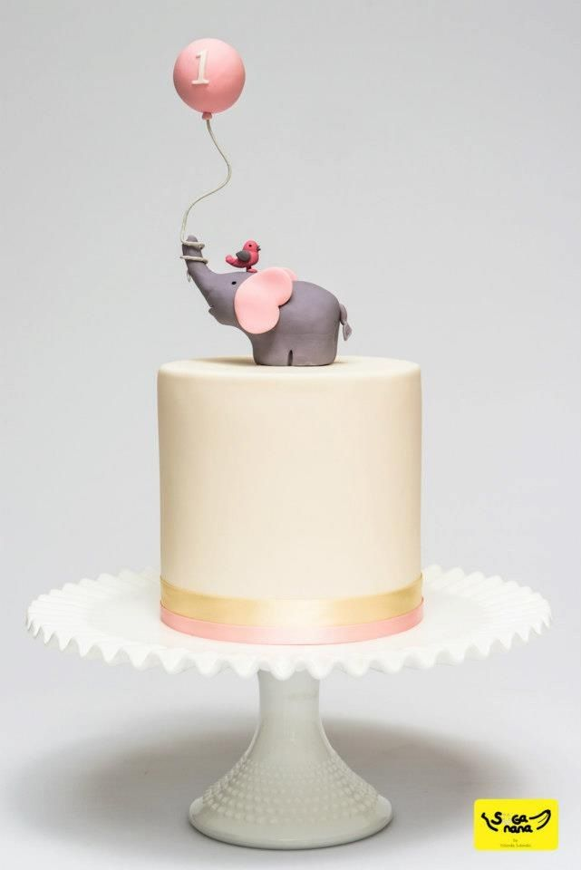 969 best Elephant Cakes images on Pinterest Anniversary cakes