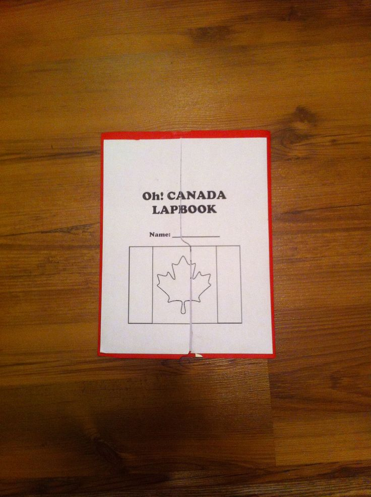 cover of Canada lapbook
