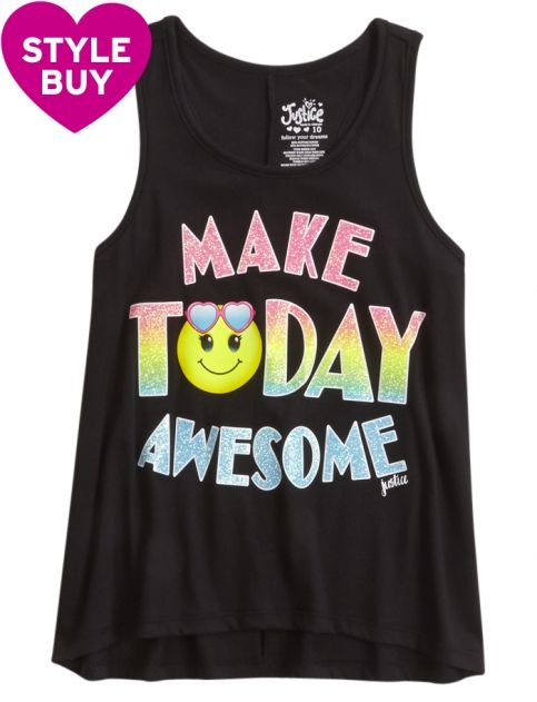Awesome Emoji Graphic Tank