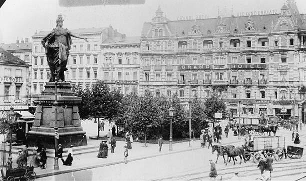 1904 Alexanderplatz Berolina Mit Dem Grand Hotel Grand Hotel Berlin Germany
