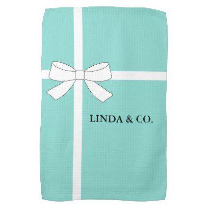 BRIDE & CO Personalize Bath Bar Kitchen Hand Towel - anniversary cyo diy gift idea presents party celebration