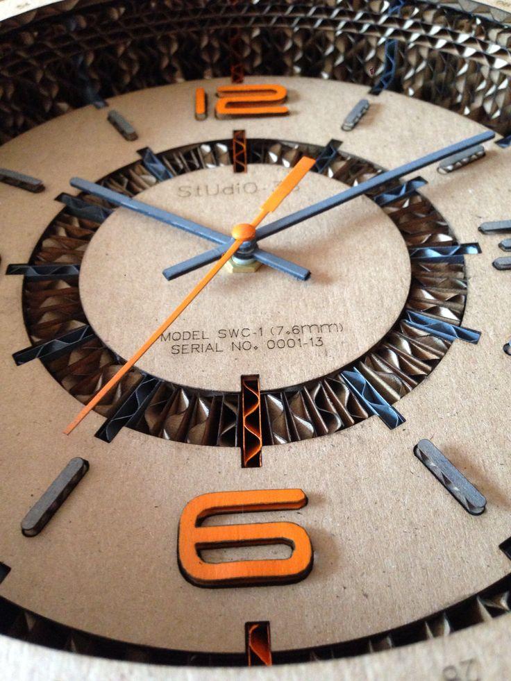 Cardboard Clocks by Studio-38