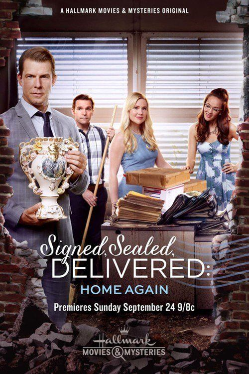 Watch Signed, Sealed, Delivered: Home Again 2017 Full Movie Online Free