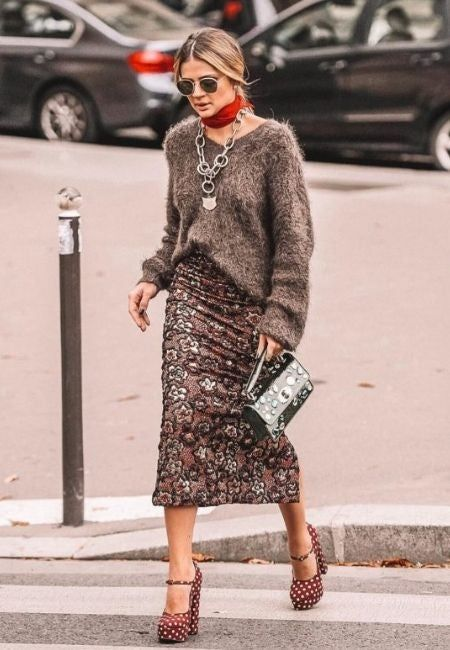 Como usar lenço no pescoço e na cabeça: 20 ideias para inspirar   Ideias fashion, Roupa outono, Roupas da moda