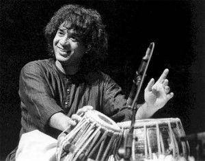 Ustad Zakir Hussain, a tabla maestro