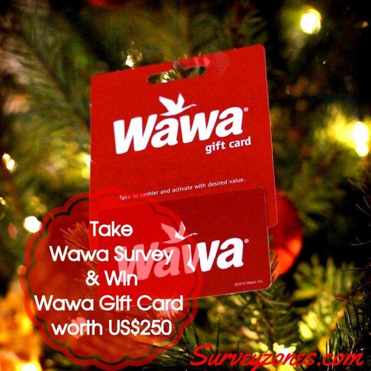 Wawa survey win wawa 250 gift