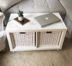 Amazing IKEA HACK u Wohnzimmertisch aus Kallax Regal