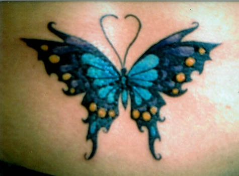 Do you know that God paints every color on butterflies with his fingers~Emily Rose - The Ultimate Gift (That quote under or around any butterfly tattoo)