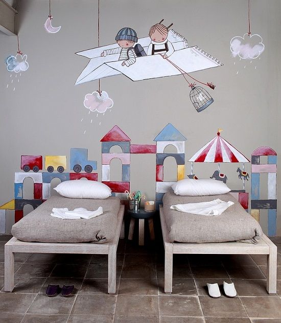 Mejores 47 im genes de murales infantiles en pinterest - Murales para habitacion ...