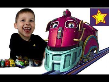 Чаггингтон Игрушечный паровозик Спиди Распаковка игрушки Chuggington toys unboxing http://video-kid.com/20574-chaggington-igrushechnyi-parovozik-spidi-raspakovka-igrushki-chuggington-toys-unboxing.html  Привет, ребята! В этой серии Игорюша открывает паровозик Спиди из Чаггингтона. Это сиреневый паровозик. Спиди бывший шахтер и друг паровозика Пита. Спиди очень мудрый паровоз. ******************************************************Спасибо большое за просмотр, нашего канала!Thanks а lot for…