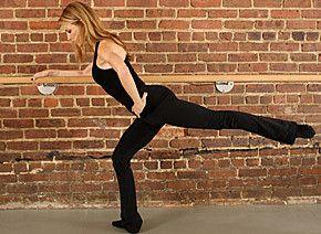 Reverse Leg Lift (also known as ballet arabesque)