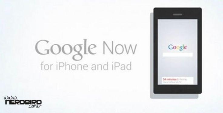 A Google acaba de lançar o Google Now para iOS através de uma atualização para o aplicativo Google Search. A Google afirma que o serviço é exatamente o mesmo que o Google Now disponível para Android, embora certas funcionalidades e características, como o deslizar para cima para iniciar a aplicação, não possa, infelizmente, transitar e ser implementado no ecossistema fechado da Apple.