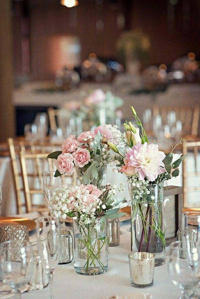 jolie dcoration table mariage deco de table pas cher pour votre mariage vintage