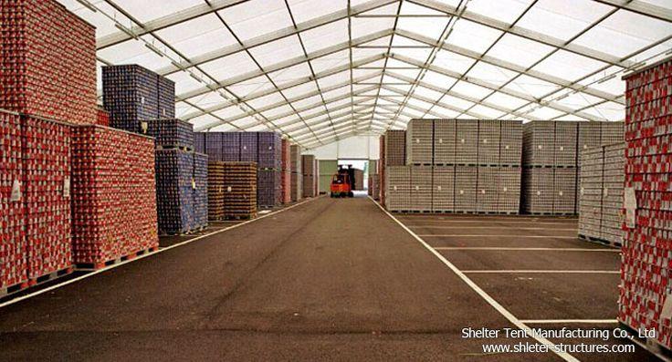 Shelter Construcciones industriales es amplio Clearspan utilizado como almacén y taller temporal o semipermanente. Debido a su gran espacio interior, montacargas y otras maquinarias Heavey puede moverse libremente dentro de la tienda. Vanos Ancho de 30m a 50m, longitud pueden ser ilimitadas, añadiendo 5m bahías larga prolongación de la tienda.  http://es.shelter-structures.com/category/products/warehouse-tent/