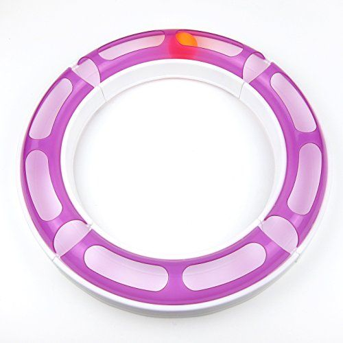 Alfie Pet by Petoga Couture - Jackie Chase Ball Track Interactive Cat Toy