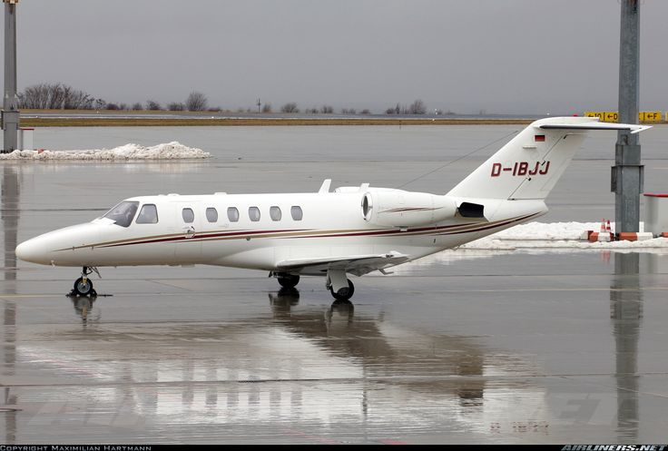 Cessna 525A Citation CJ2, Air Hamburg, D-IBJJ, cn 525A-0125. Erfurt, Germany, 2.3.2016.