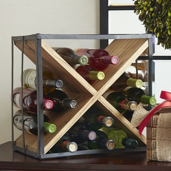 You Ll Love The Cross 18 Bottle Tabletop Wine Rack At Wayfair