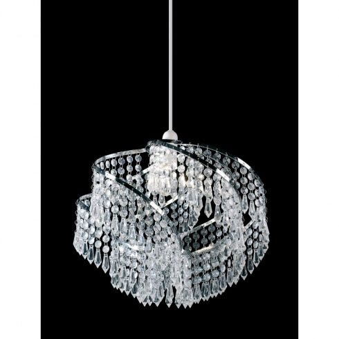 Non electric pendant easy fit shades provide a simple way to improve current light sources without the hassle of having to change any of your wiring