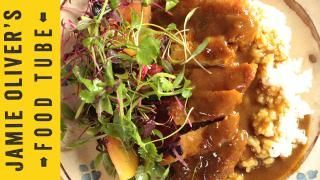 Delicious Chicken Katsu Curry recipe. Only change I did was change the bay leaves for a tbsp of honey.