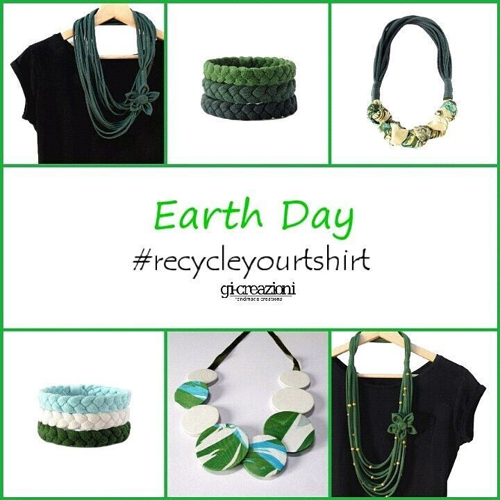 Celebrate Earth Day wearing ecofriendly products! #earthday #ecofriendly #recycled #loveourplanet #reuse #recycling #beconscious…