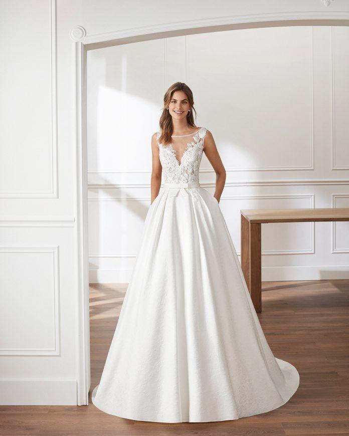 Vestidos de novia luna novias 2019