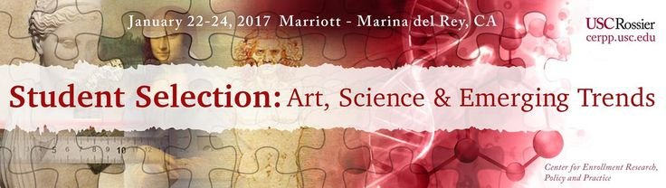 The annual conference of USC Rossier School of Education's Center for Enrollment, Research, Policy and Practice will be held Jan. 22-24 at the Marina Del Rey Marriott.